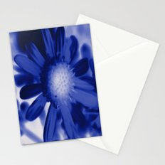 Petals Blue Stationery Cards