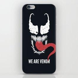 We Are Venom iPhone Skin