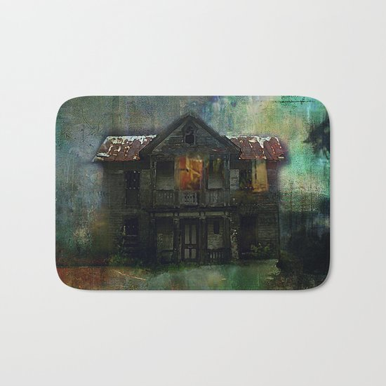 Haunted house Bath Mat