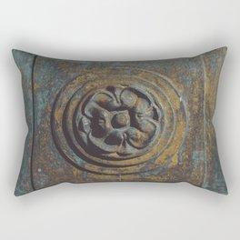 Metal Flower Rectangular Pillow