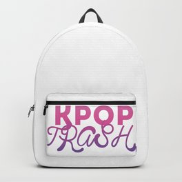 kpop trash Backpack