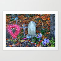 Loved Child Art Print