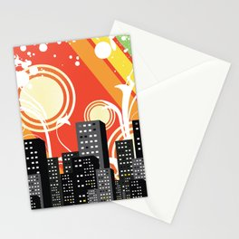 City Summer Stationery Cards