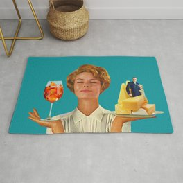 Weekend Plans (Cocktails & Cheese) Rug