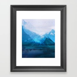 Tomorrow's Digital Landscape 20160126g Framed Art Print