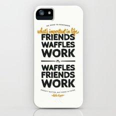 Leslie Knope iPhone (5, 5s) Slim Case
