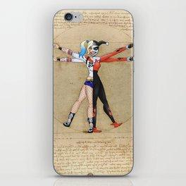 Vitruvian Harley iPhone Skin