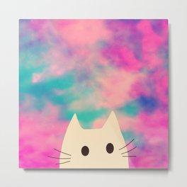 cat 138 Metal Print
