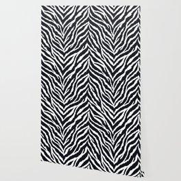 Zebra fur texture Wallpaper