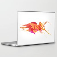 road Laptop & iPad Skins featuring On the road again by Robert Farkas