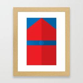 "Belts of Justice: Scientist Series ""The Tiny Titan"" Framed Art Print"
