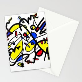 Mondrian Remix Stationery Cards
