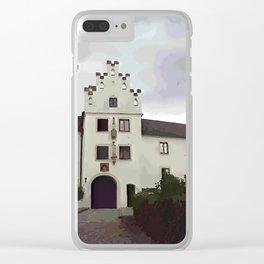 Schloss Kronwinkl in Niederbayern Clear iPhone Case