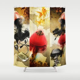 Jelly Killers Shower Curtain