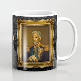 Morgan Freeman - replaceface Coffee Mug