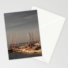 Horumersiel marina lower saxony Germany ( Northsea ) Stationery Cards