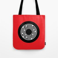 shining Tote Bags featuring Shining by Aurelie Scour