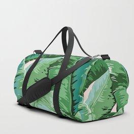 Banana leaf grandeur II Duffle Bag