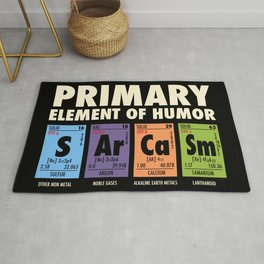 SArCaSm - Primary Element Of Humor Rug