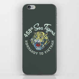 458th Sea Tigers iPhone Skin