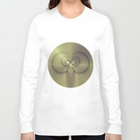 metallic Long Sleeve T-shirts featuring Metallic Feeling by Design Windmill