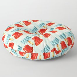 USA 4th of July Popsicle Pattern Floor Pillow