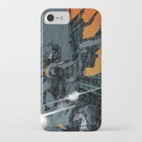 metal gear iPhone & iPod Cases featuring METAL GEAR Ground Zeroes by Toni Infante