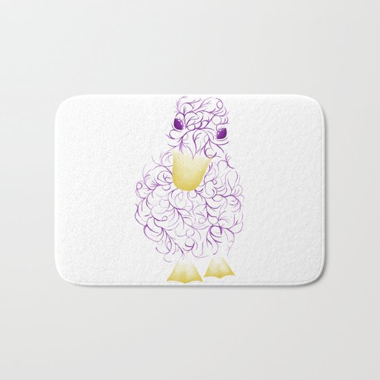 Fantasy Duck Bath Mat