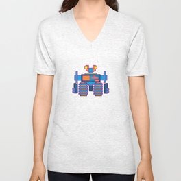 Robot 05 Unisex V-Neck