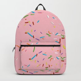Pink With a Chance of Sprinkles - Colorful Pattern Backpack