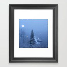Lake Arrowhead Framed Art Print