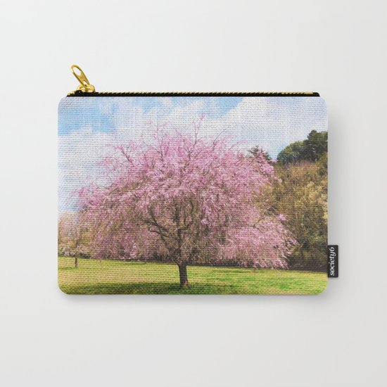Beautiful cherry blossoms Carry-All Pouch