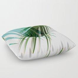 Palm Leaf, Botanical Leaves Floor Pillow