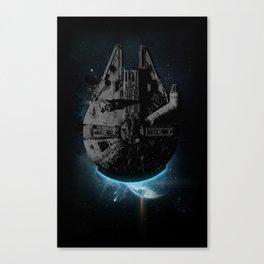 Stealth Falcon Canvas Print