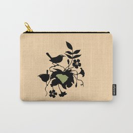 South Carolina - State Papercut Print Carry-All Pouch