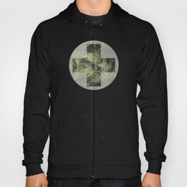 SHADED GREEN FERN Hoody