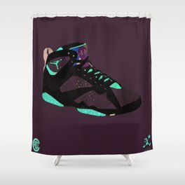 Hare 7's Shower Curtain