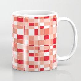 Mod Gingham - Red Coffee Mug
