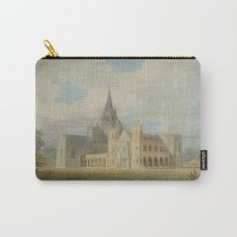 """J.M.W. Turner """"Fonthill Abbey in Wiltshire, England from the south west"""" Carry-All Pouch"""