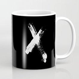 X marks the spot (white) Coffee Mug