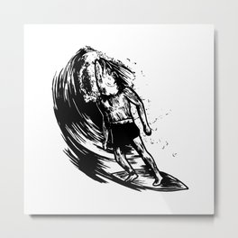 Fish In A Barell Metal Print