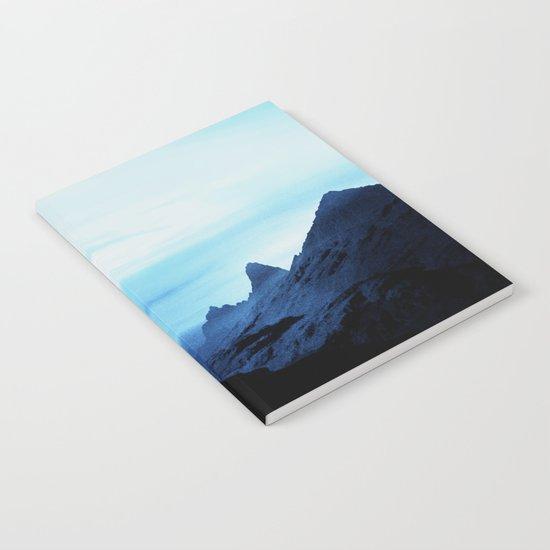 Blue Wasteland Isolation Notebook