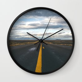 The Open Road Wall Clock