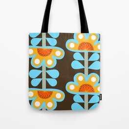 swedish flowers Tote Bag