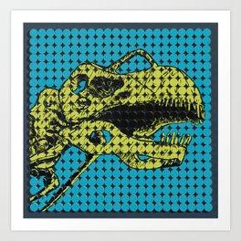 Argentinosaurus Skeleton Art Print