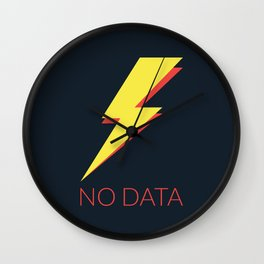 No Data Wall Clock
