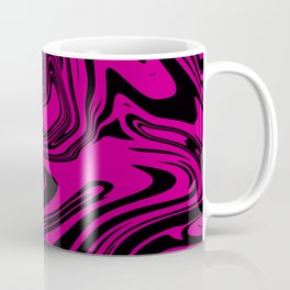 Pink and black Marble Coffee Mug