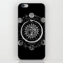 Boho Moon iPhone Skin