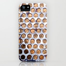 More Metal Dots iPhone Case