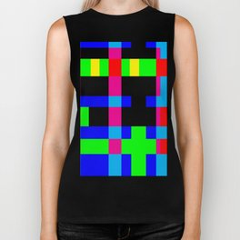 Hangover Helper Abstract Biker Tank